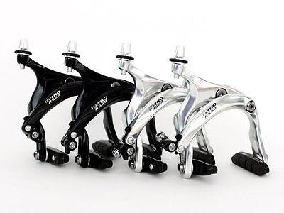 TEKTRO R559 ROAD Bike Brake Calipers Long Arms 53-73 mm NUTTED Silver Black