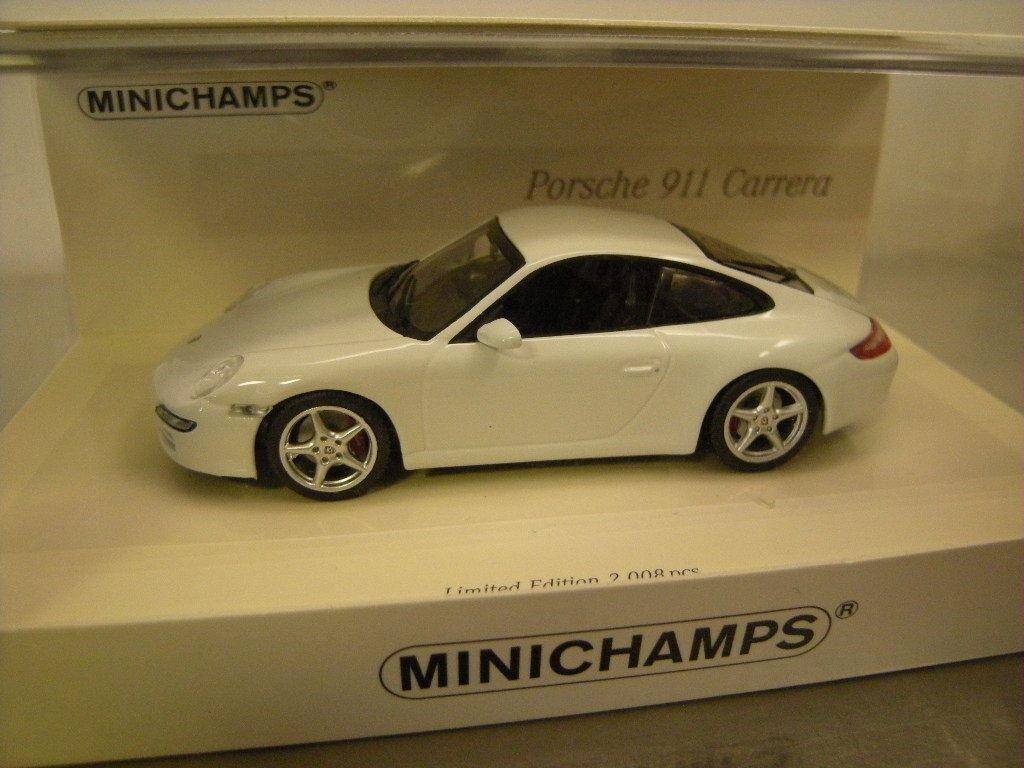 1 43 Minichamps Porsche 911 2004 linea bianco Limited edition 1 of 2008 pc Neuf dans sa boîte