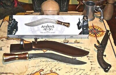 Assassin S Creed Officially Licensed Syndicate Metal Kukri W Sheath
