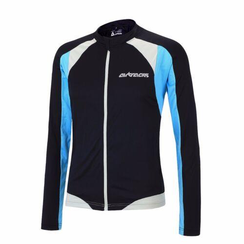 New Airtracks Cycling Jersey Long Sleeve pro T//Cycling Bike Shirt//S-XXXL