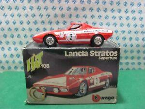 Vintage-LANCIA-STRATOS-Marlboro-1-24-Bburago-Art-0108-NMIB