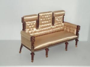 Playscale 1 6 escala silla con apoya pies Barbie moda realeza blythe icy BJD
