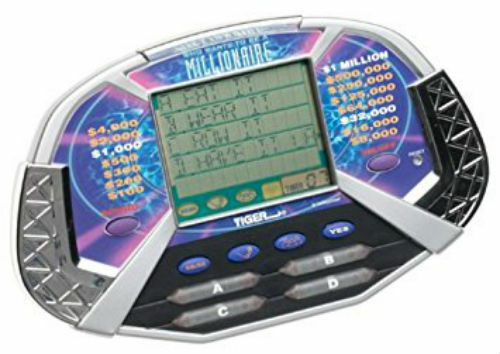TIGER ELECTRONIC WHO WANTS TO BE A MILLIONAIRE LCD GAME