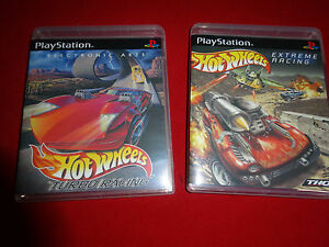 Empty-Cases-Hot-Wheels-Turbo-Racing-Extreme-Racing-PlayStation-1-PS1-PS2-PS3