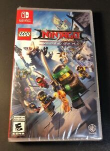 LEGO The Ninjago Movie VideoGame (Nintendo Switch) NEW ...