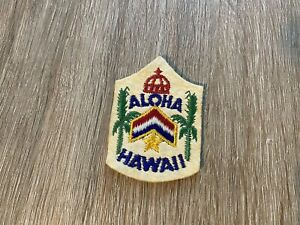 Vintage 1960s 60's Aloha Hawaii Travel Souvenir Patch