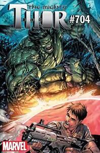 Mighty-Thor-704-Hulk-Variant-Legacy-Marvel-Comics-1st-Print-COVER-B