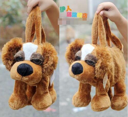 nice plush hand bag forest monkey giraffe lion dog sheep tiger package Handbag