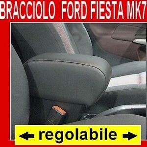 FORD-FIESTA-MK7-bracciolo-con-portaoggetti-per-alta-qualita-vedi-tappeti