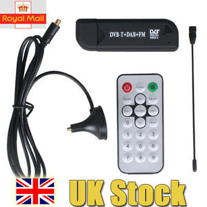 DVB-T-USB-TV-RTL-SDR-FM-DAB-Radio-Tuner-Receiver-Stick-Realtek-RTL2832U-R820T