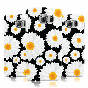 BLACK-DAISY-PRINT-SUMMER-FLORAL-FLOWERS-CASE-FOR-SAMSUNG-GALAXY-MOBILE-PHONES