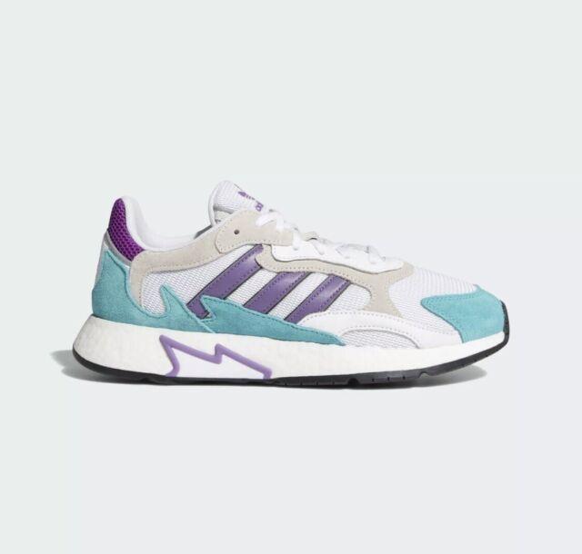 adidas Tresc Run White Purple Aqua