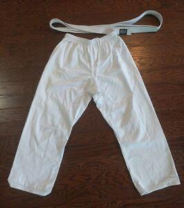 Details about Martial Arts Brazilian Jiu-Jitsu Judo Ligth Wear Hi Pants  Size 5 + belt