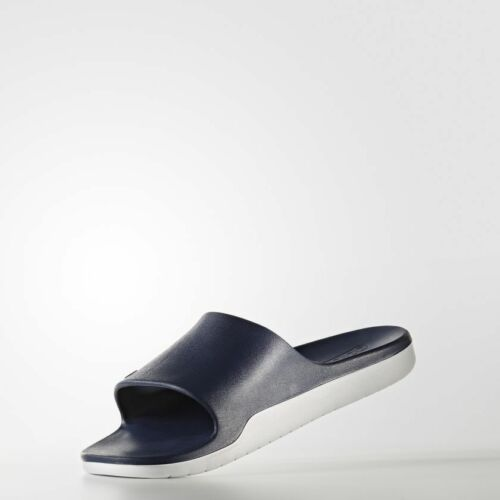 5a4cf659f8f2f8 Cloudfoam white 4 5 Beach Slippers Flops Aqualette Flip Size Adidas Navy  Slides Navy fx5n7pBZq