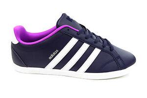 adidas coneo qt neo damen sneaker schuh weiß lila