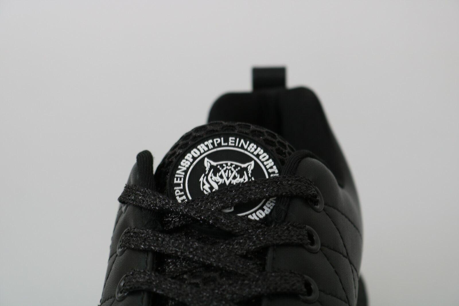 Philipp Plein Sport Chaussures Baskets Noir Décontracté Course EU38/US7.5