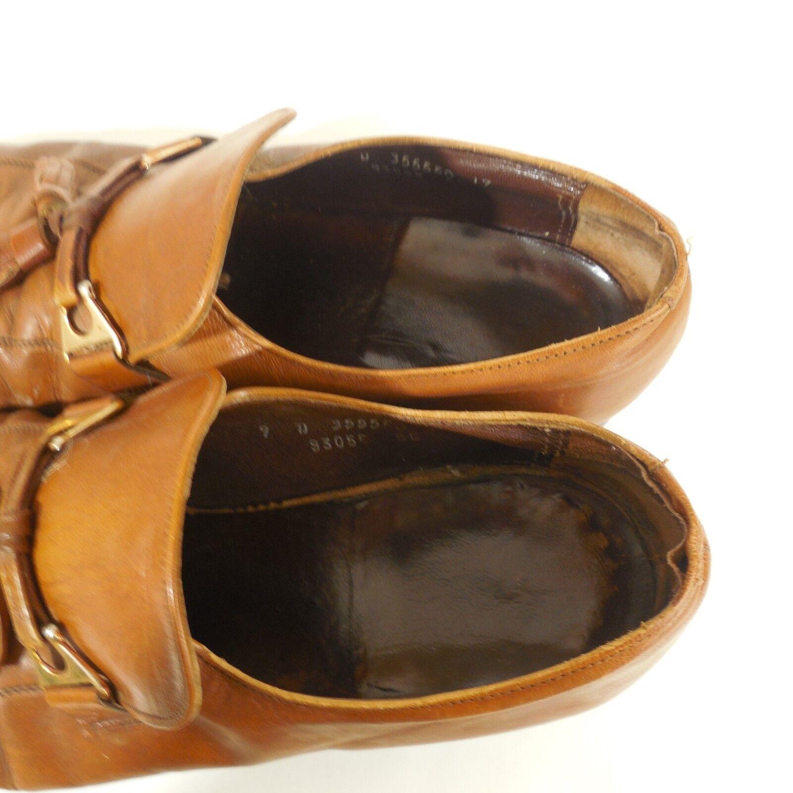 Florsheim Florsheim Florsheim Royal Imperial Mens Sz 9 D braun Tassel Leather Dress schuhe Preowned 477507