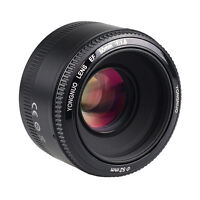 Yongnuo YN 50mm AF/MF New Standard  Prime Fixed Lens for Canon EOS DSLR Camera