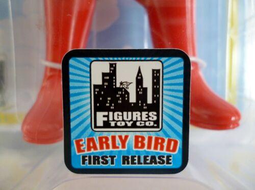 "SUPERMAN DC Comics World/'s Greatest Heroes Retro Style 8/"" Early Bird Figure 2014"