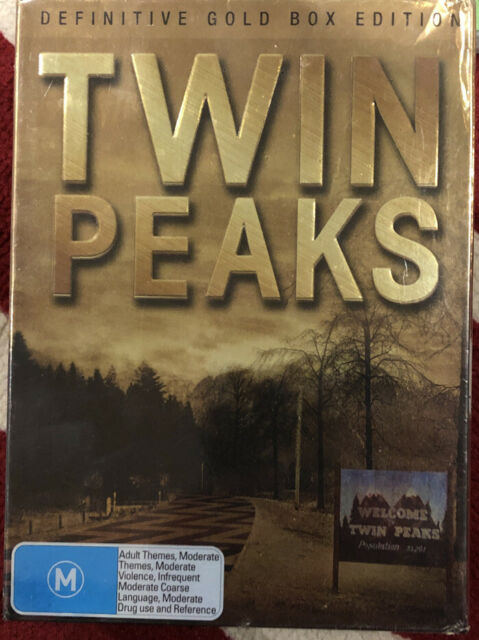 Twin Peaks: The Definitive Gold Box Edition (10 Disc Definitive Edition) DVD NEW