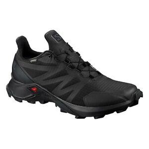 Detalles de Salomon Hombre Zapatos Negros Supercross GTX Trail Running pn:  L40808800- ver título original