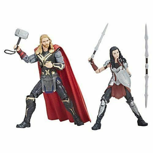 Marvel Legends Cinematic Universe 10th Anniversary Thor and Sif 6-Inch Action Fi