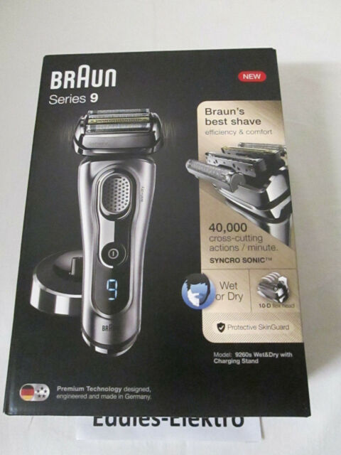 Braun Series 9 9260S Herrenrasierer 9260 S wet & dry Rasierer NEU & OVP
