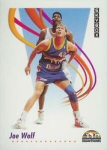 #76 Joe Wolf - Denver Nuggets - 1991-92 SkyBox Basketball