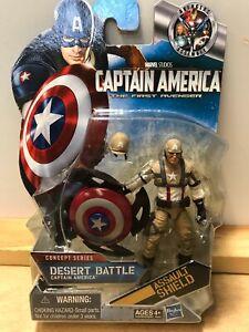 Marvel-Captain-America-Figure-Dessert-Battle-Concept-Series-Brand-New-Rare-Mint