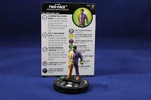 Heroclix The Joker/'s Wild uncommon Two-Face 030