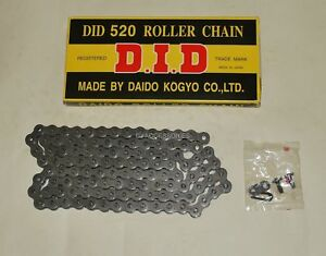 Standard-DID-Grey-Chain-520-112-Suzuki-DRZ400-Yamaha-YZ125-YZ250F