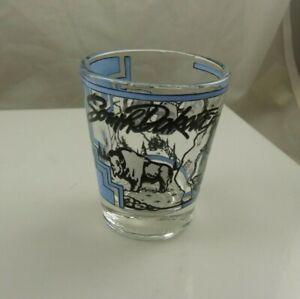 shot glass South Dakota buffalo Mount Rushmore souvenir collectible