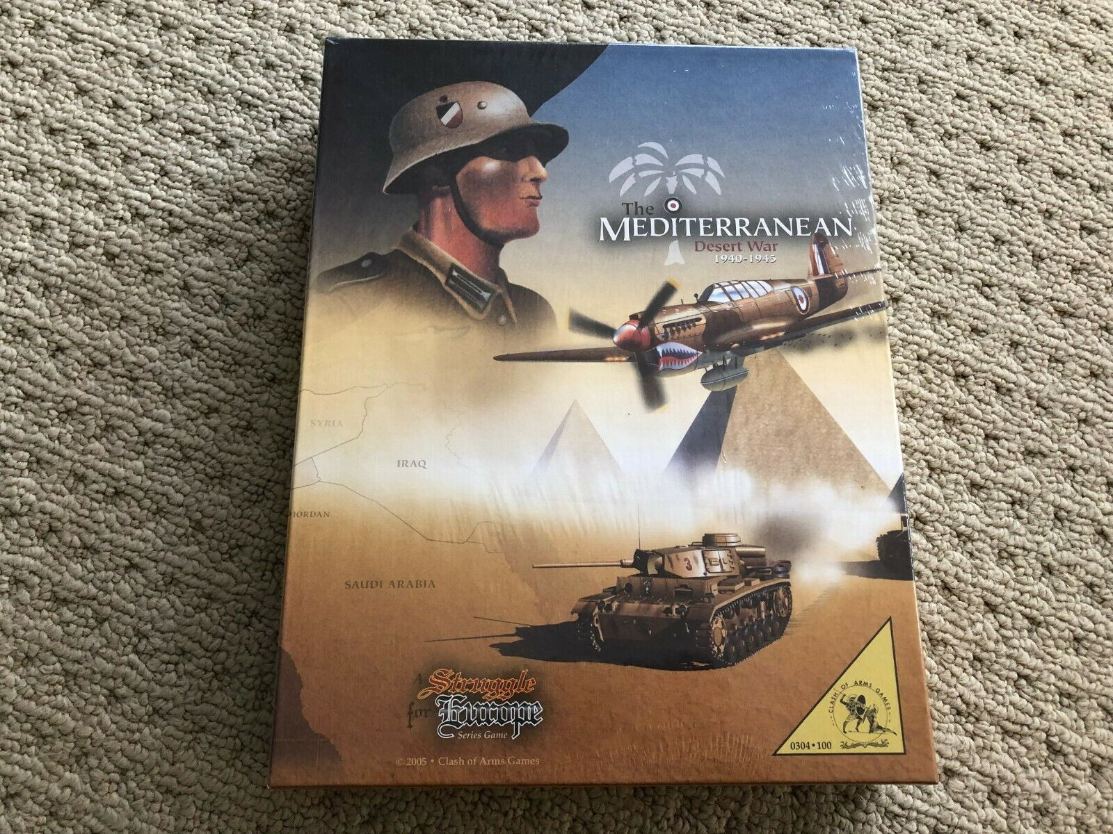 The Mediterranean Desert War 1940-1945 Clash Of Arms Games 2005 Sealed