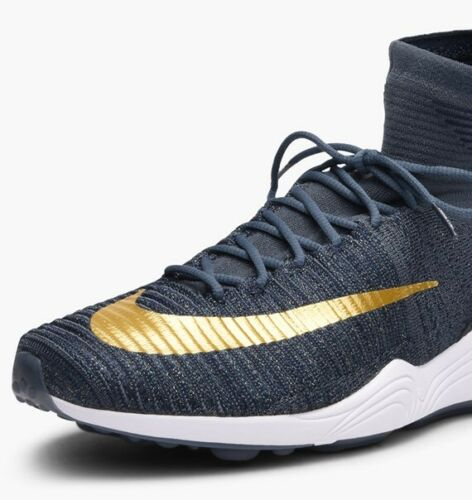 3q Fc 852616 Flyknit Fox 6 metallic 400 Uk Blue Nike Eu40 Xi Gold Zoom Mercurial zawzqXr