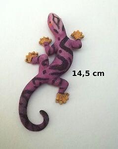 Superbe Lézard Mauve ,décoration,collection,gecko,salamandre G-t3 05 Vdbdsord-07223135-749897344
