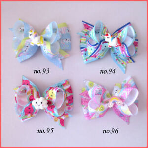 "20 Girl 3.5/"" Birthday Hair Bow Crown Heart Ice Cream Doughnut Lollipop Mermaids"