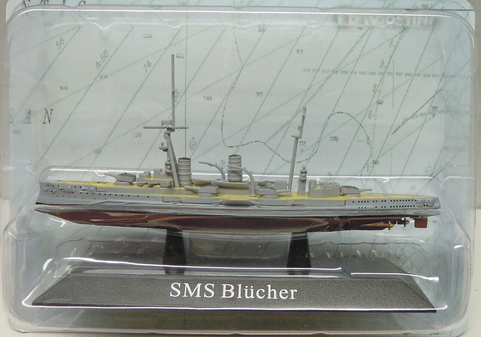 "Gran Crucero SMS ""Blücher"", 1908 1908 1908 , Atlas, 1 1250 , Modelo a Escala, Nuevo  mejor precio"