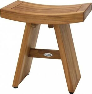 Tremendous Details About Teak Shower Stool Wood Safety Seat Wooden Home Spa Bath Bench Bathroom Chair Theyellowbook Wood Chair Design Ideas Theyellowbookinfo