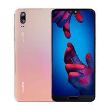 Huawei P20 EML-L29 Dual LTE 4GB RAM 128GB Pink Unlocked ship from EU Nuevo