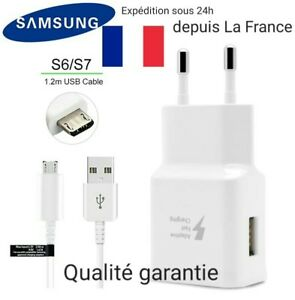 Chargeur-RAPIDE-Cable-SAMSUNG-ORIGINAL-Galaxy-S6-S7-Note-4-5-Edge-Plus