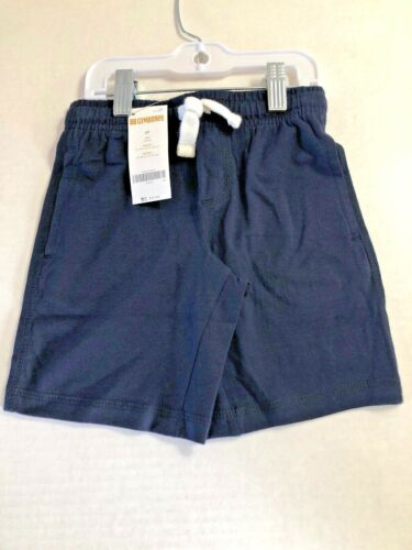 MSRP 14.9 NWT Gymboree Boys  Blue Shorts Size 3t Drawstring Elastic Waist NWT