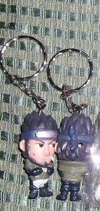 1 Key Ring Gashapon Manga Figure Keychain Anime Ninja Konoha Master Naruto-asuma Reinigen Der MundhöHle.