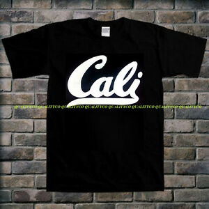 NEW-Men-039-s-CALI-Black-T-Shirt-California-Republic-cali-dope-diamond-illest-Tee