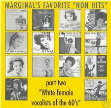 "V.A. - MARGINAL'S FAVORITE ""NON HITS"" - RARE Popcorn CD"