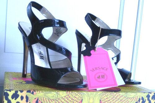 Versace for H&M Stilettos High Heels Sandaletten Schuhe Gr 36  US 5 UK 3