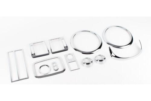 Chrome Interior Molding Kit Trim Garnish 12p 1Set For 02 03 Kia Sorento