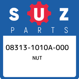 08313-1010A-000-Suzuki-Nut-083131010A000-New-Genuine-OEM-Part