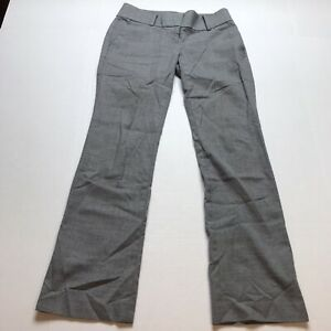 Ann-Taylor-Sz-00P-Gray-Bootcut-Dress-Pants-A185