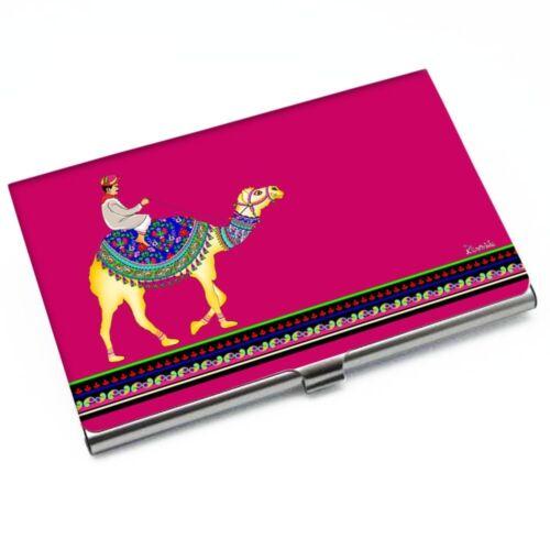 Indiancarft Hot Pink Camel Beauty Card Holder