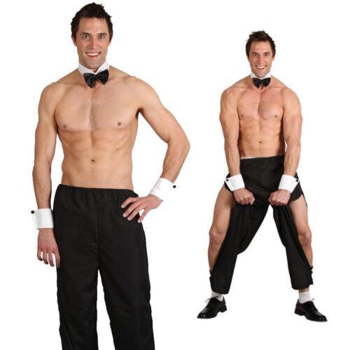 Homme Party boy mâle stripper Jackass fancy dress costume adulte Tenue Poule Cerf